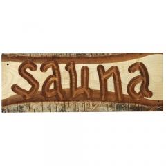 """Табличка """"Sauna"""""""