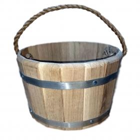 Ведро деревянное